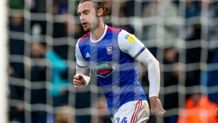 Will Keane's scored three times for Town since arriving on loan in January. Picture: STEVE WALLER