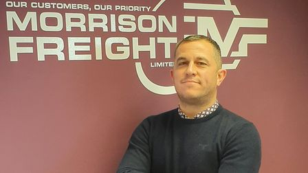 Lee Steward, of Morrison Freight, has spoken out about the impact of Brexit on logistics firms. Phot