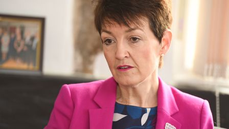 Cancer survivor Jo Churchill said more needs to be done to improve the situation Picture: GREGG BROW