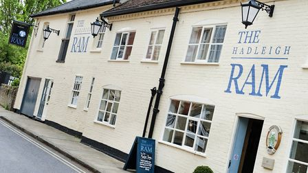 The Hadleigh Ram Picture: ARCHANT