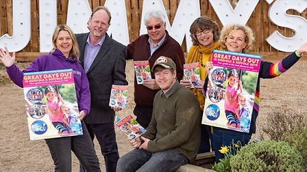 Launch event of the Norfolk and Sufolk Attractions Great Days Out guide 2019 at Jimmy's Farm, Suffo
