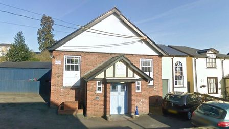 Poppy's Children's Nursery in Stowmarket is now missing slate tiles from its porch roof thanks to th
