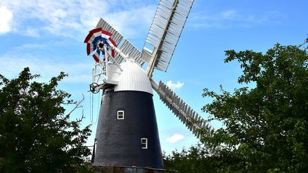 Thelnetham Windmill is open during National Mills Weekend Picture: ARCHANT