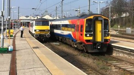 East Midlands Trains run services from Norwich to Liverpool