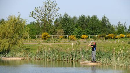Suffolk Water Park is a popular fishing spot in Suffolk, but the Environment Agency urge everyone to