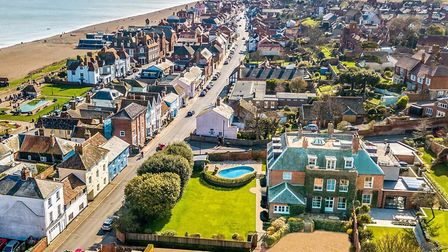Wyndham House is for sale in Aldeburgh. Picture: JACKSON - STOPS