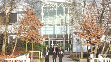 Adastral Park, in Martlesham, Ipswich - the epicentre of BT's research, technology and IT operation