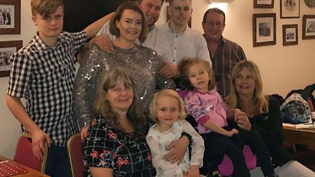 Rebecca, Tony and their family believe it was Teigan's smile that got them through the incredibly di