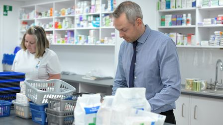 Opening times for Suffolk and Essex pharmacies over Easter Picture: SARAH LUCY BROWN