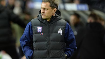 Paul Hurst lasted just 15 games as Ipswich Town manager at the start of this season. Photo: Pagepix