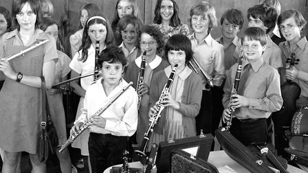 Stoke By Nayland Middle School Music Concert in June 1976