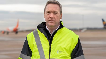 Ken O-Toole, chief executive of Stansted Airport Picture: RARE BREED PHOTOGRAPHY