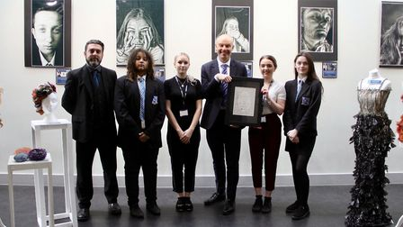 Thomas Gainsborough School has been awarded a platinum level Artsmark for the second time Picture: T