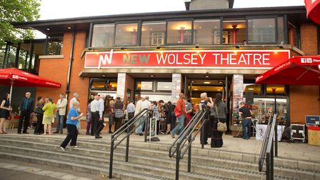 Exterior view of the New Wolsey Theatre, Ipswich. Photo Mike Kwasniak