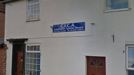 A threatening phone call was reported at Colchester Jamiah Mosque Picture: GOOGLE MAPS