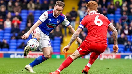 Alan Judge has impressed since joining Ipswich Town. Picture: STEVE WALLER
