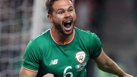 Alan Judge is in the Republic of Ireland squad for clashes with Gibraltar and Georgia. Picture: PA S