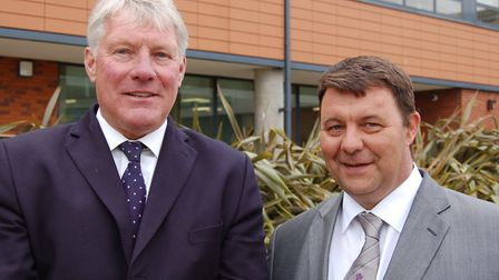 John Griffiths and James Waters have welcomed the report backing the metro system Picture: WEST SUF