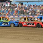 The stock rods compete for the English title at Foxhall on Saturday. Picture: CHRIS BERRY