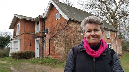 Sarah Quinlan says plans for the vicarage in Westleton have been positively received Picture: RACHE