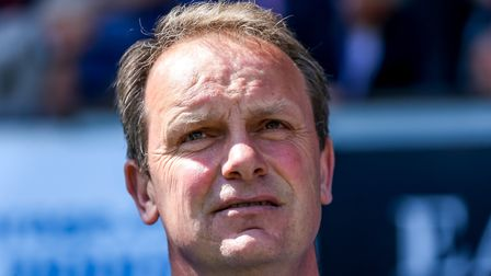 Klug took caretaker charge of Ipswich for two spells in 2018. Picture: STEVE WALLER WWW.STEPH