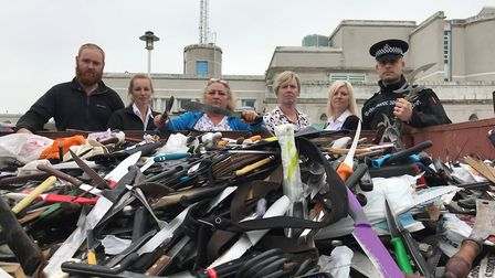 Essex Police and Only Cowards Carry knife amnesty bins have collected more than 4,000 blades this ye