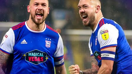 Ipswich Town captain Luke Chambers recently signed a new contract. Picture: STEVE WALLER
