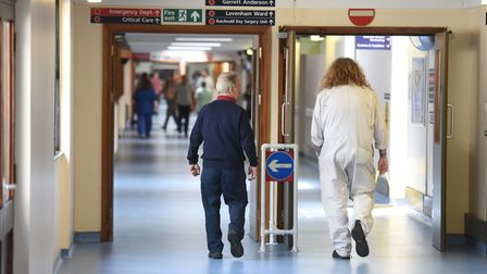 Generic view inside Ipswich Hospital. Picture: GREGG BROWN
