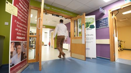 Ipswich Hospital Picture: GREGG BROWN
