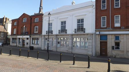 Ther NatWest building in Market Place, Stowmarket Picture: MID SUFFOLK DISTRICT COUNCIL