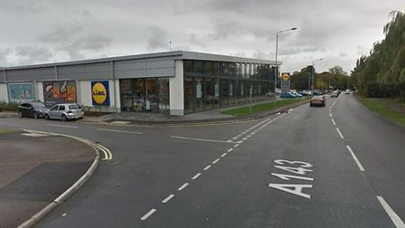 A man was stabbed while sitting in a vehicle at a car park close to Lidl supermarket in Haverhill Pi