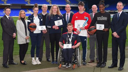 Eight of Suffolk's international sporting hopefuls have been awarded a funding boost from national c