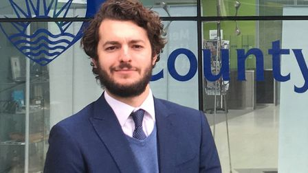 Suffolk county councillor Jack Abbott Picture: ARCHANT