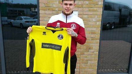Ipswich Town keeper Harry Wright has joined Chelmsford City on a youth loan. Photo: Chelmsford City