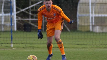 Ipswich Town keeper Harry Wright has joined Chelmsford City on loan until the end of the season. Pho