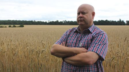 Andrew Francis, farms director at Elveden Farms, who wants to see home-grown produce supported under