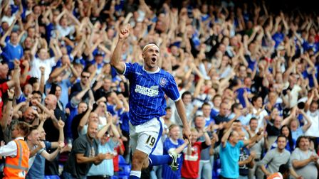 Jon Walters scored 32 goals for Ipswich Town between 2007 and 2010. Photo: Archant