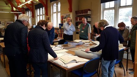 Suffolk Record Office held the talk to remember Ipswich and Suffolk's rich pub history. Picture: RA