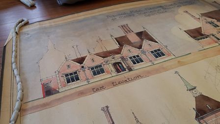Original designs from local architects of Ipswich's most popular pubs were on show. Picture: RACHEL