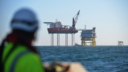 Progress being made on ScottishPower Renewables' East Anglia ONE offshore wind farm project Picture