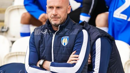 Colchester United head coach John McGreal ahead of today's match against Tranmere. Picture: STEVE W