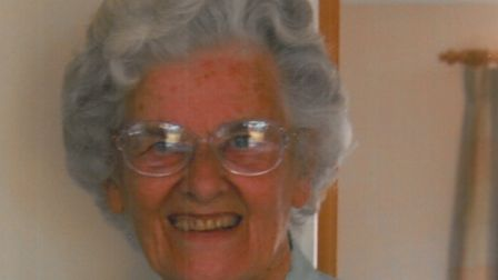 A 2008 photograph of Margaret Thick, taken on her 80th birthday Picture: FAMILY COLLECTION