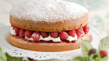 Victoria sponge is a classic British cake Picture: Getty Images/iStockphoto