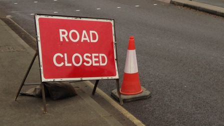 The B1119 at Knodishall is due to be temporarily closed by Suffolk Highways. Picture: ARCHANT