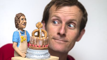 Great British Bake-Off runner-up Ian Cumming who is appearing at the East of England Food, Home and