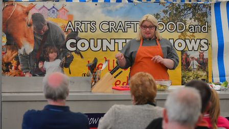 MasterChef contestant Ondine Hartgroves will be giving a demonstration at the East of England Food,