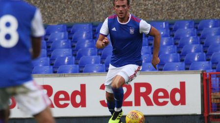 Emyr Huws in action Picture: ROSS HALLS