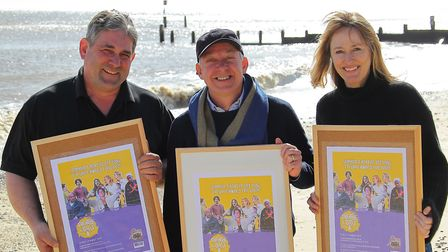 Theatre on the Coast is coming to Southwold (L-R): technical director David Hermon, producer Matthe