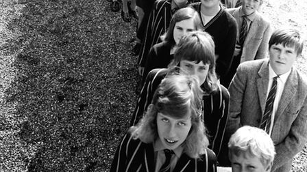 September, 1972: Brothers and sisters together as Culford School, the boys' school near Bury St Ed
