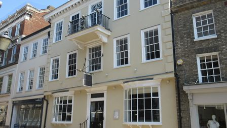 Cupola House, in Bury St Edmunds, is set to be transformed into a new Japanese restaurant. Photo:Fle